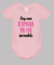Body bebé : Hermano - Hermana