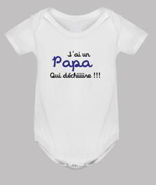 Body bébé : Papa