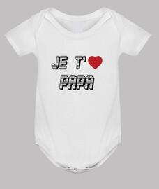 Body Bébé : Papa - Fête des pères