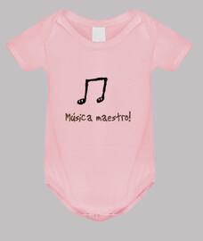 Body bebé  para músicos