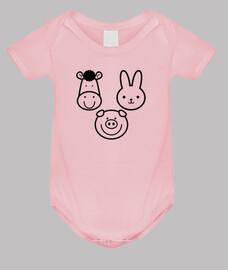 Body bebé Animales