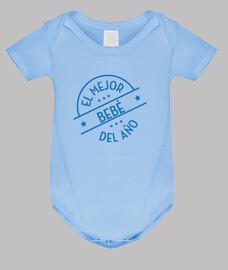 Body bebé, azul cielo