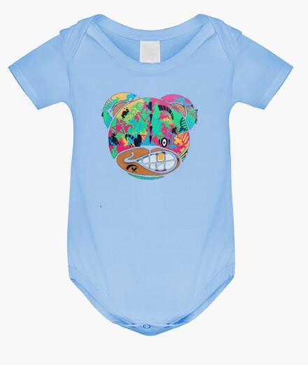 Ropa infantil Body bebé, azul cielo