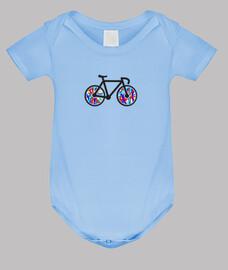 Body bebé Bicicleta