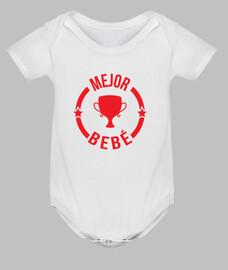 Body bebé, blanco