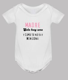 """Body bebé, blanco""""Día de la madre"""""""