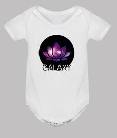 Body bebé, blanco - Galaxy