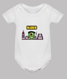 Body bebé, blanco disponible en varios colores