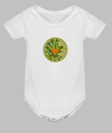 Body bebé, blanco primavera 2020