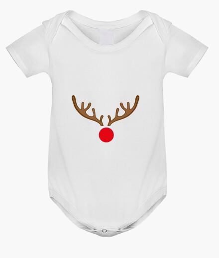 Ropa infantil Body bebé, blanco Rudolf