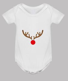 Body bebé, blanco Rudolf