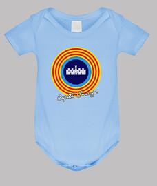 Body bébé, bleu ciel