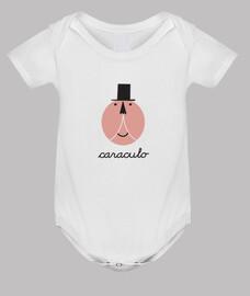 Body bebé caraculo.