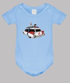 Body bebé Cazafantasmas Coche