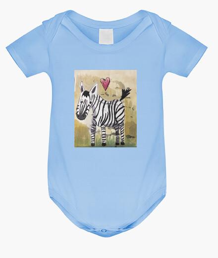 Ropa infantil Body bebé, celeste