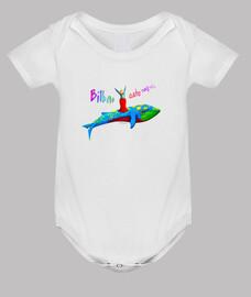 Body bebé fiestero - blanco