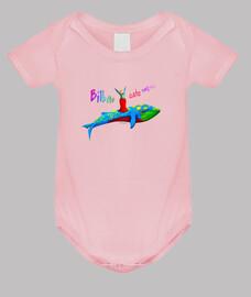 Body bebé fiestero - rosa