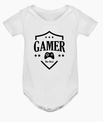 Vêtements enfant Body bébé Gamer - Gaming - Geek