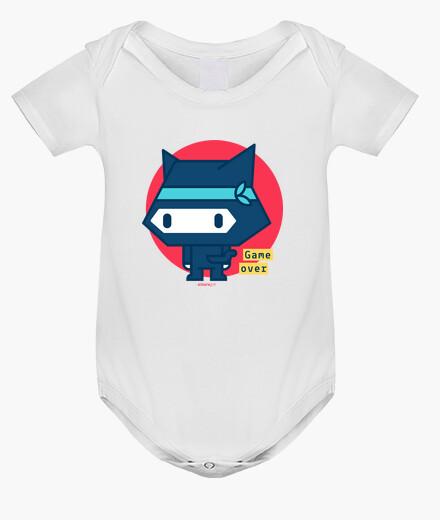 Ropa infantil Body bebé Gato ninja (3 colores)
