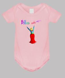 Body bebé Marijaia, rosa