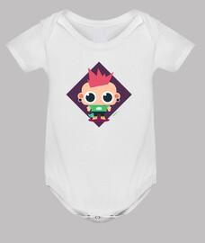 body bébé rebelle (3 couleurs)