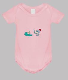 Body bebé, rosa