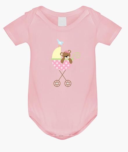 Ropa infantil Body bebé, rosa claro
