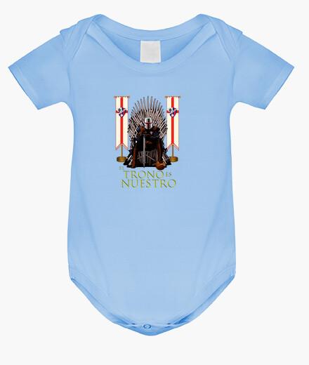 Ropa infantil Body bebé SDHuesca El Trono es Nuestro