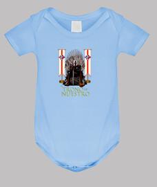 Body bebé SDHuesca El Trono es Nuestro