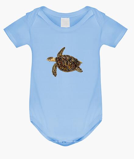 Ropa infantil Body bebe Tortuga carey (Eretmochelys imbricata)