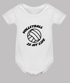 Body bébé Volleyball - Sport