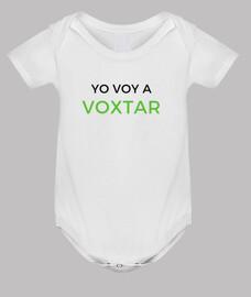 Body bebé Voxtar