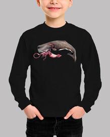 Body Cachalote y Calamar gigante