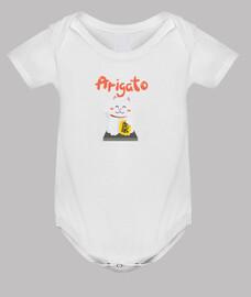Body de bebé Arigato | estilo kawaii japonés