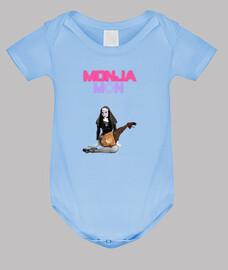 Body de bebé azul