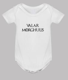 body de juego de tronos: valar morghulis