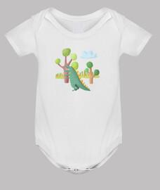 Body dinosaurio para bebé