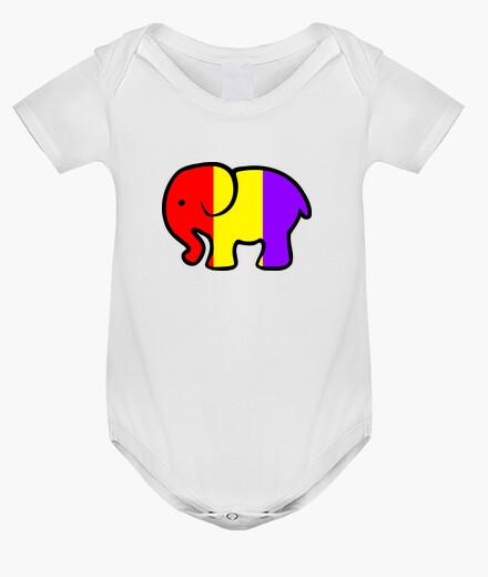 Ropa infantil Body Elefante Republicano