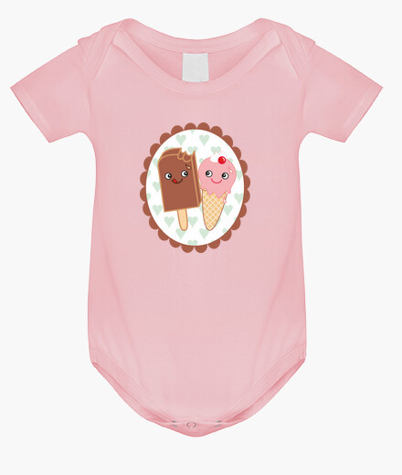 Body for baby ice cream lovers kawaii children's clothes