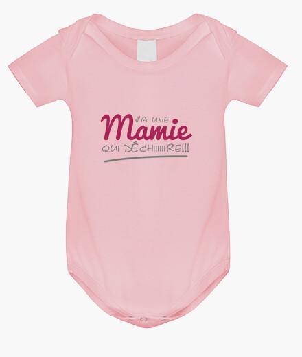 Vêtements enfant Body Mamie qui déchire