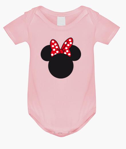 Ropa infantil Body Minnie Mouse Silueta