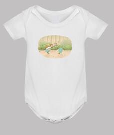 Body neonato, bianco