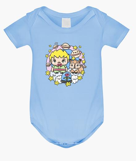 Abbigliamento bambino Body neonato, ceruleo