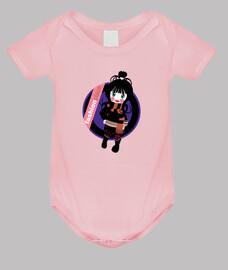 Body neonato, rosa