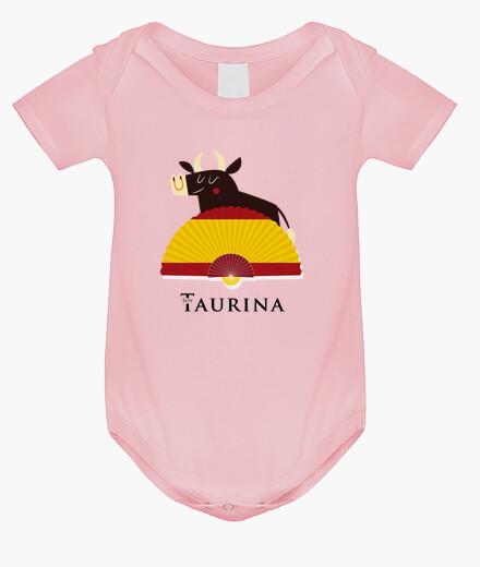Ropa infantil Body niña Soy Taurina - Toro