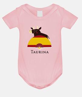 Body niña Soy Taurina - Toro