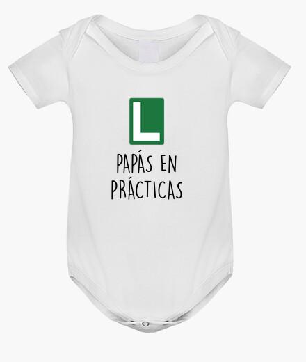 Ropa infantil Body Papás en prácticas