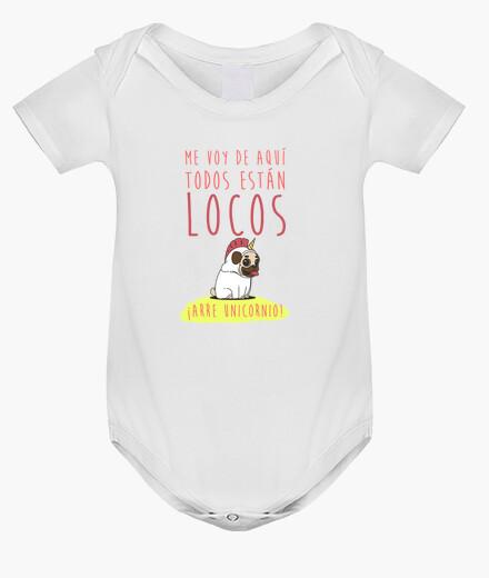 Ropa infantil Body para bebe con diseño Arre Unicornio