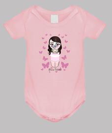 Body para bebé Kokeshi María Villalón