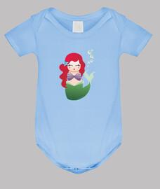 Body para bebé Kokeshi Sirenita